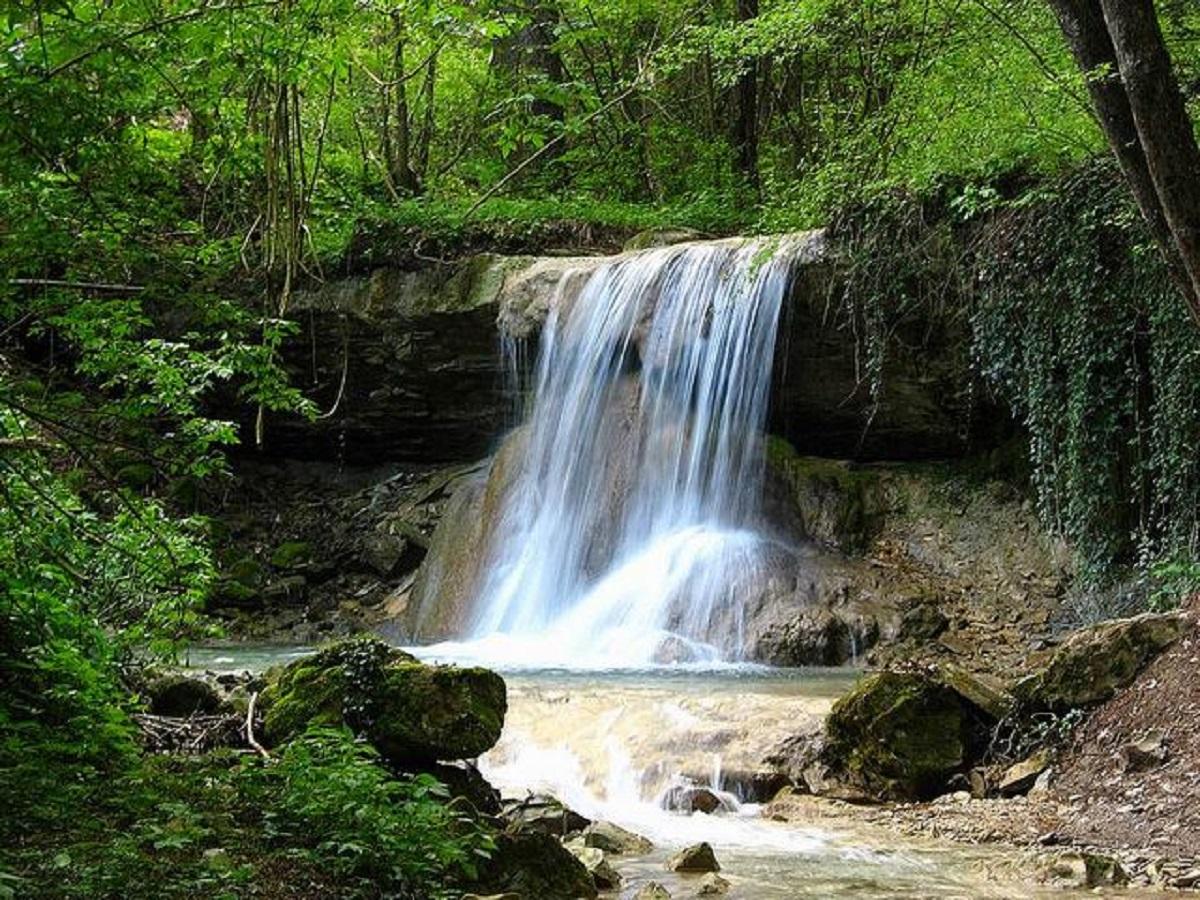 cascate del bucamante leggenda