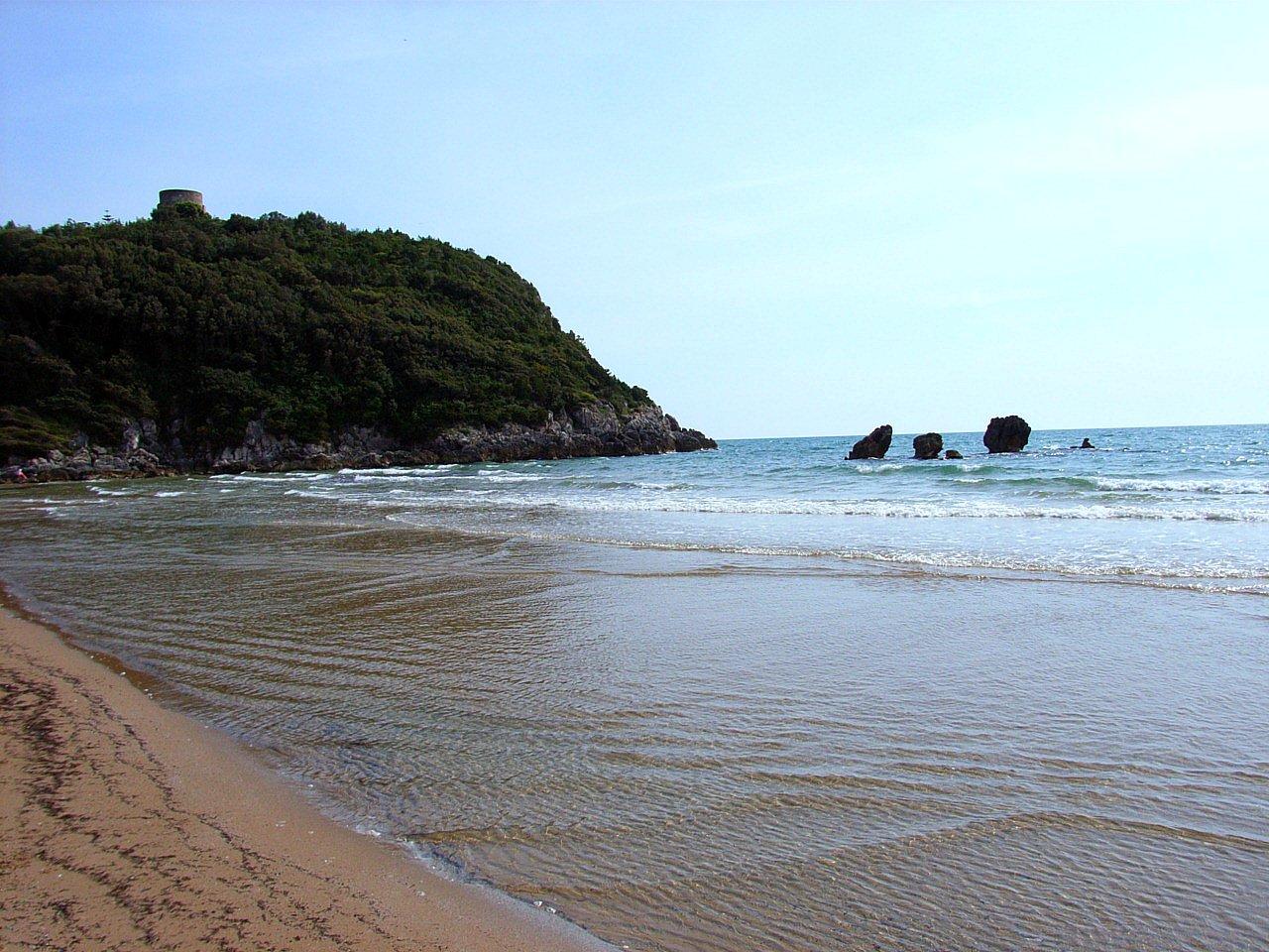 gaeta spiagge libere
