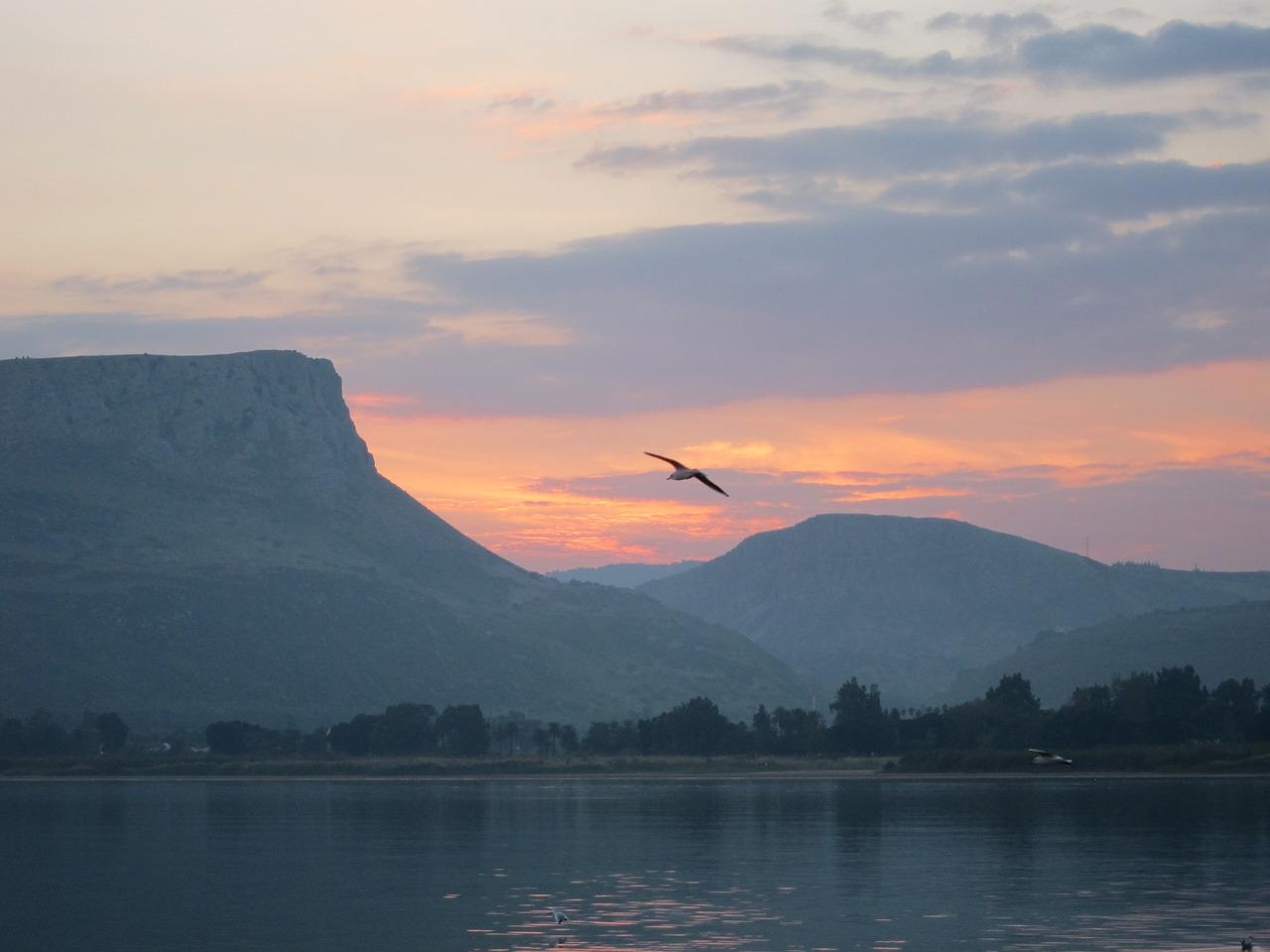 lago di galilea dove si trova
