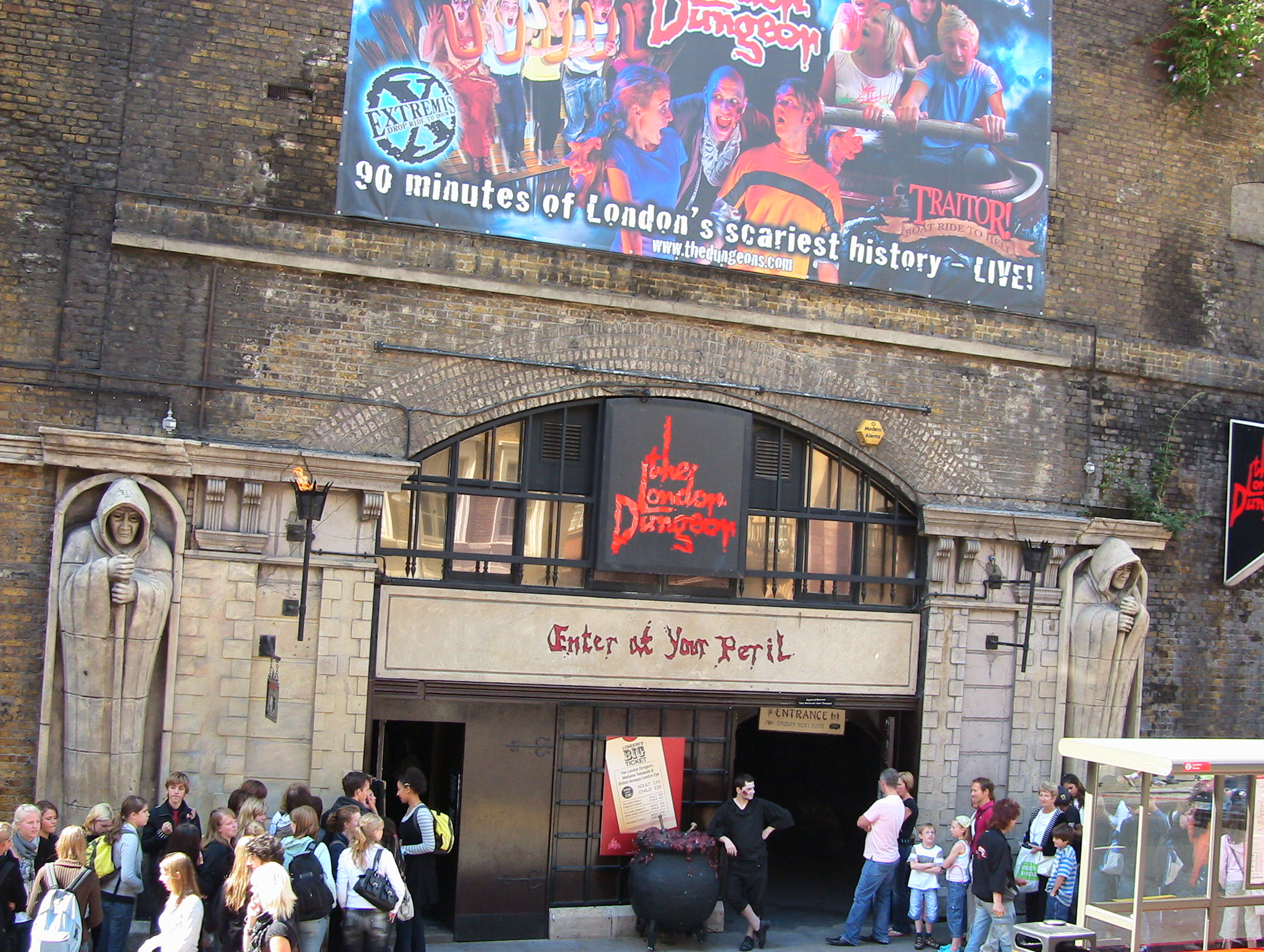 london dungeon cos'è