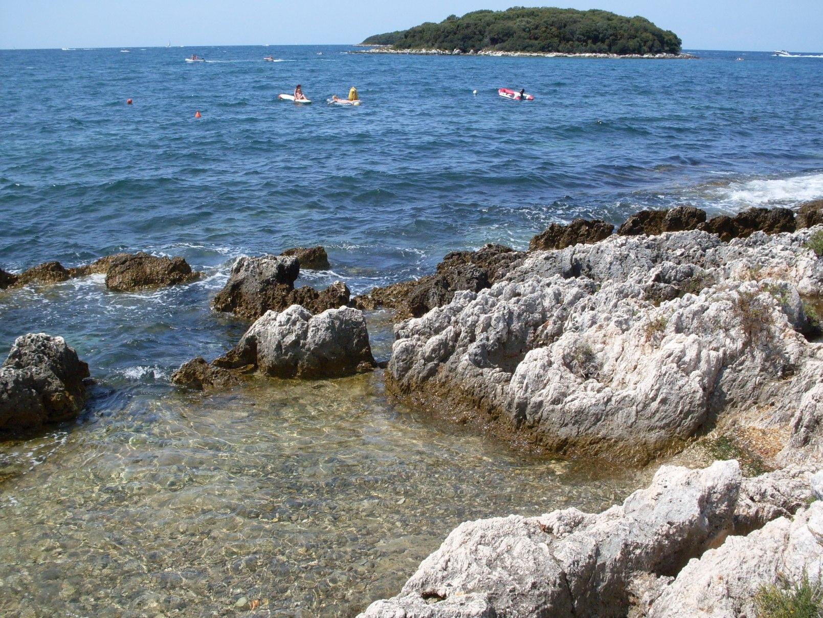 parenzo croazia spiagge libere