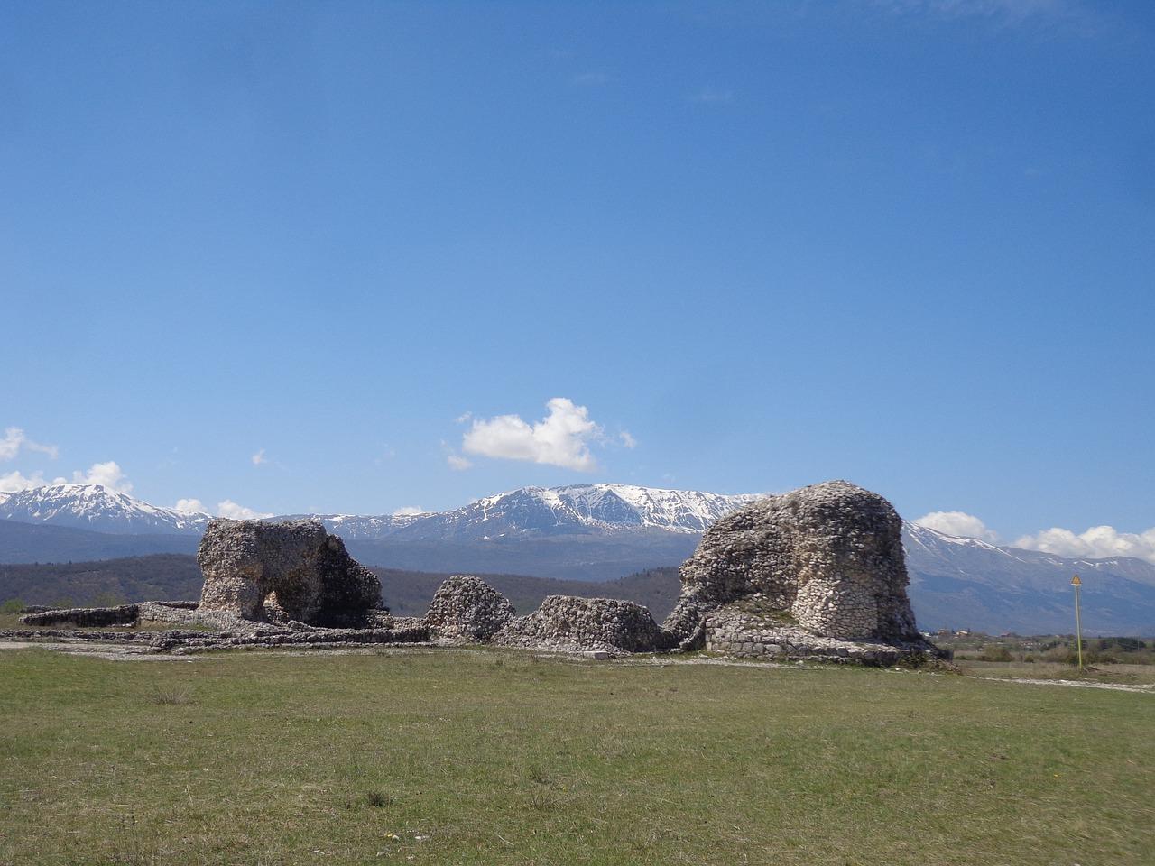 siti archeologici preistorici in abruzzo