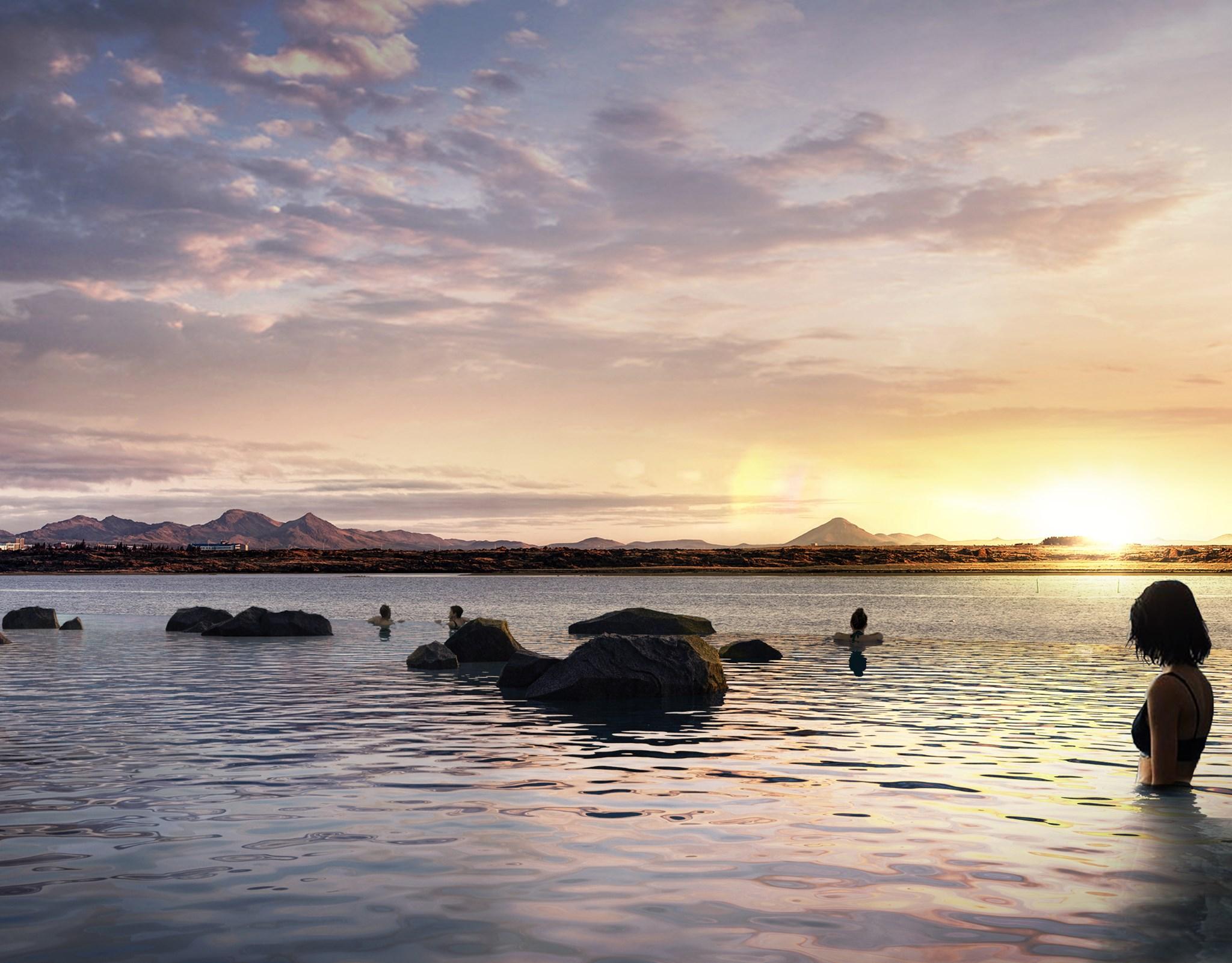 Sky Lagoon Islanda