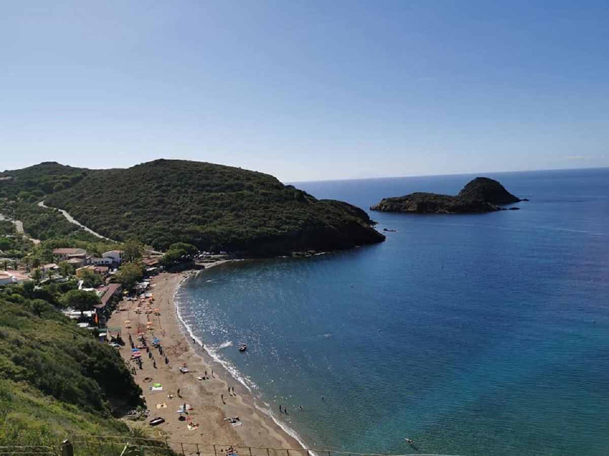 Spiaggia dell'Innamorata sull'Isola d'Elba