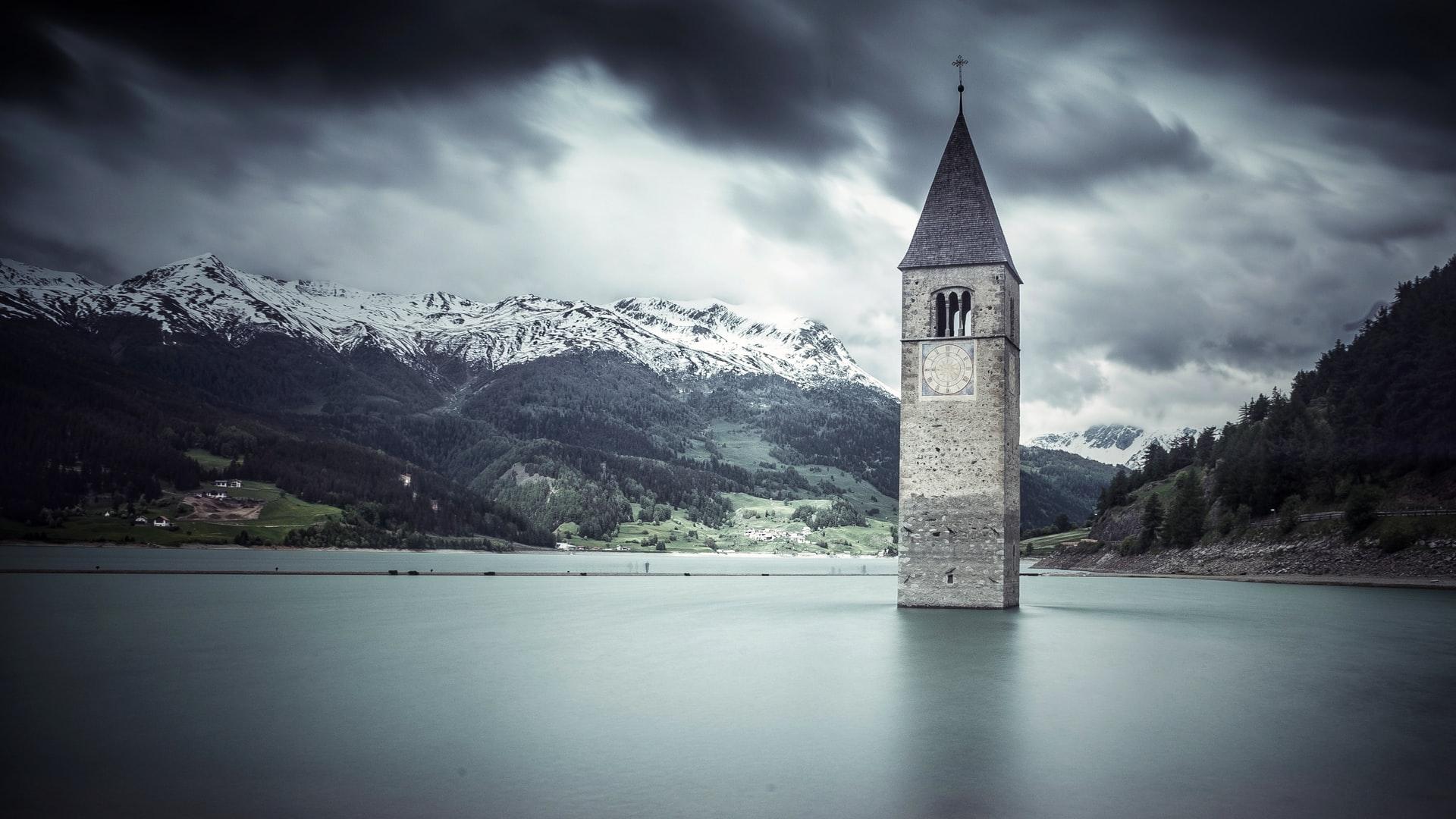 storia del campanile di curon