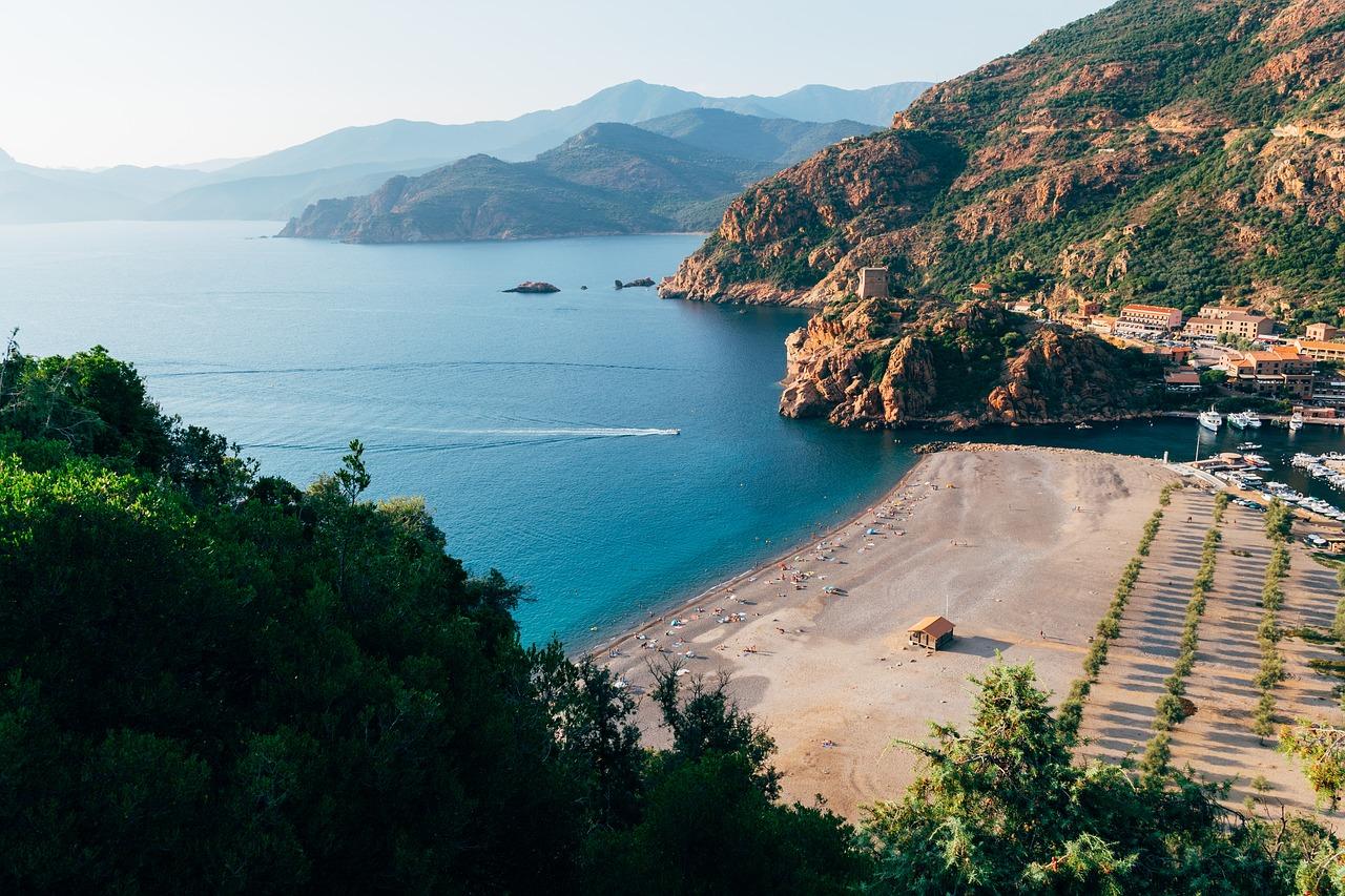 trekking sul mare corsica
