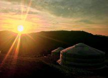 Villaggio della Mongolia Piemonte