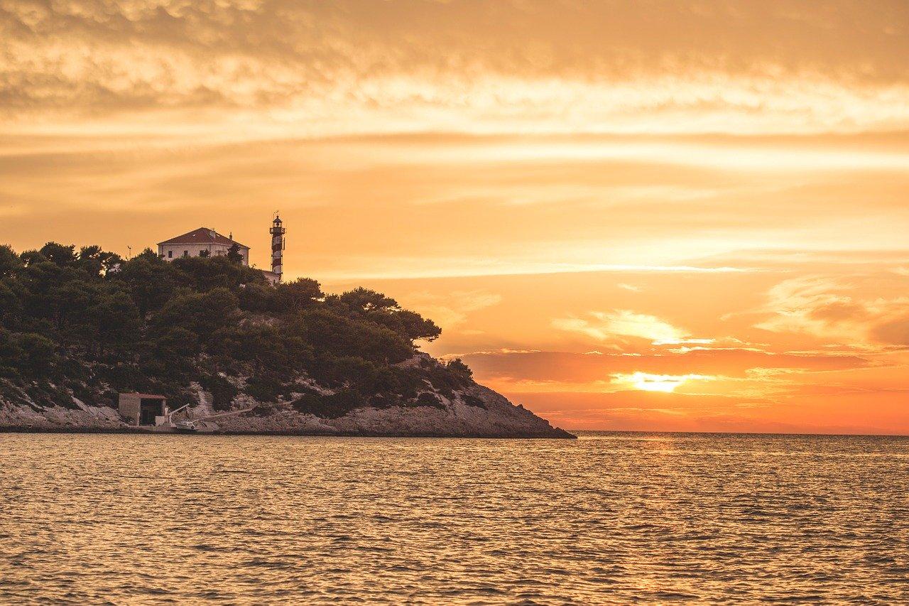 affittare un faro in croazia