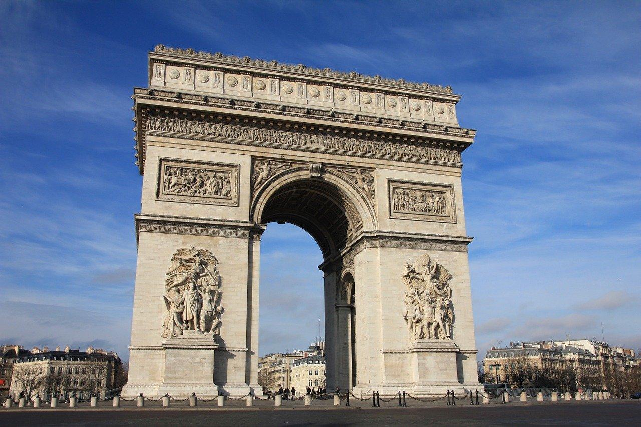arc de triomphe parigi storia