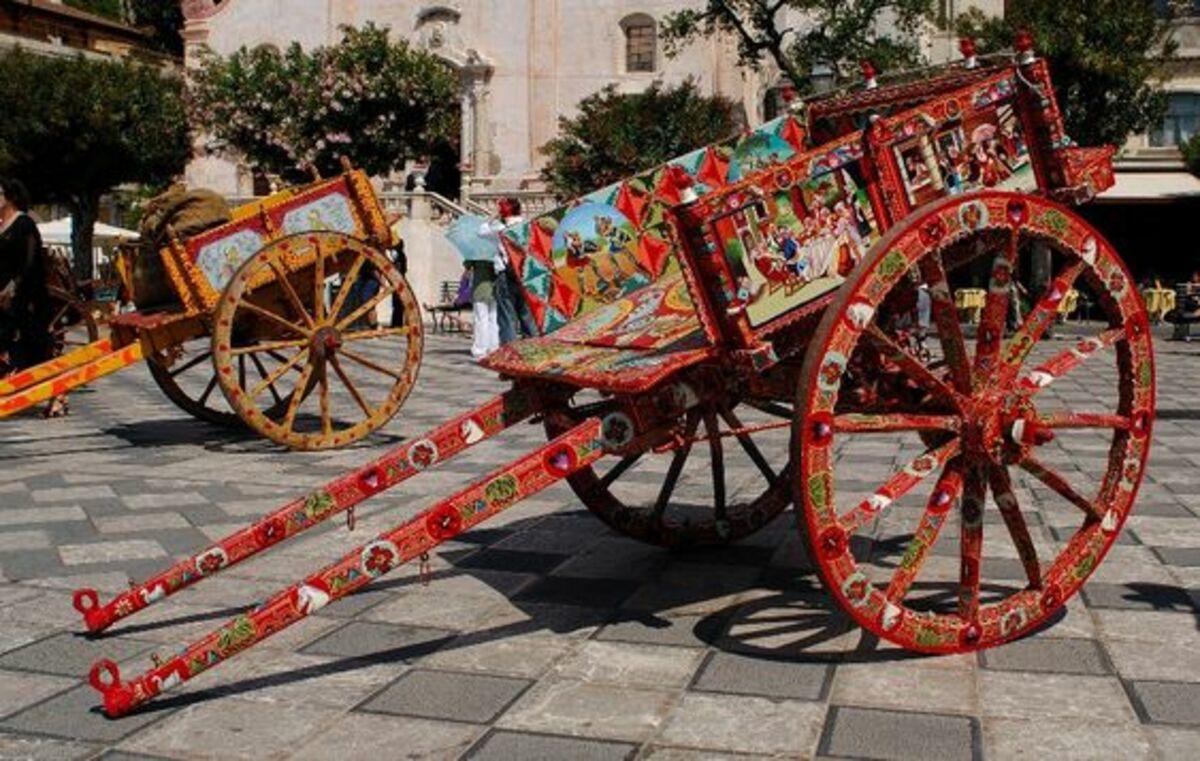 carretti siciliani storia 1