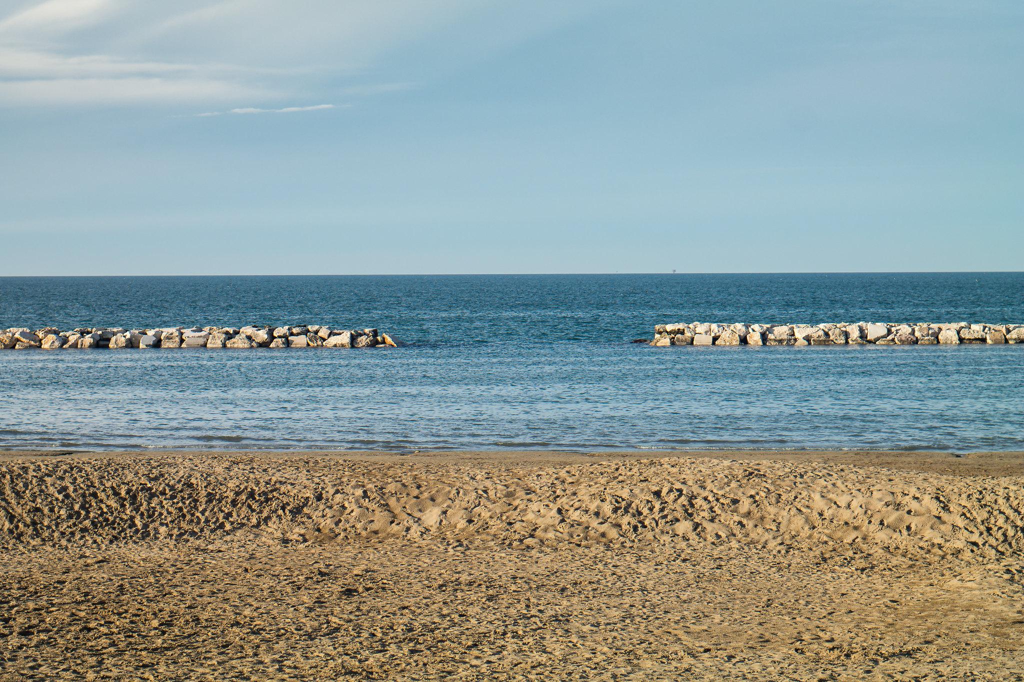 gabicce spiagge libere
