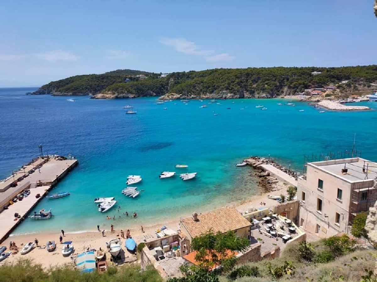 isola san domino spiagge