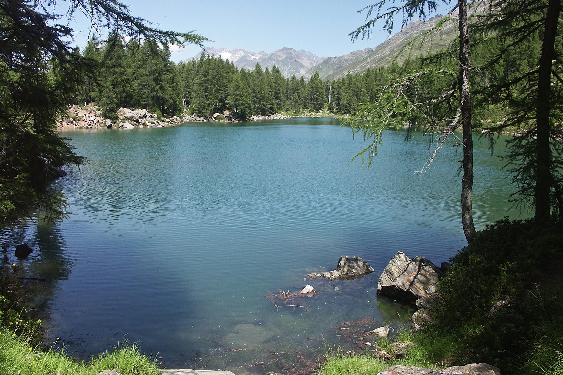 Lago azzurro madesimo