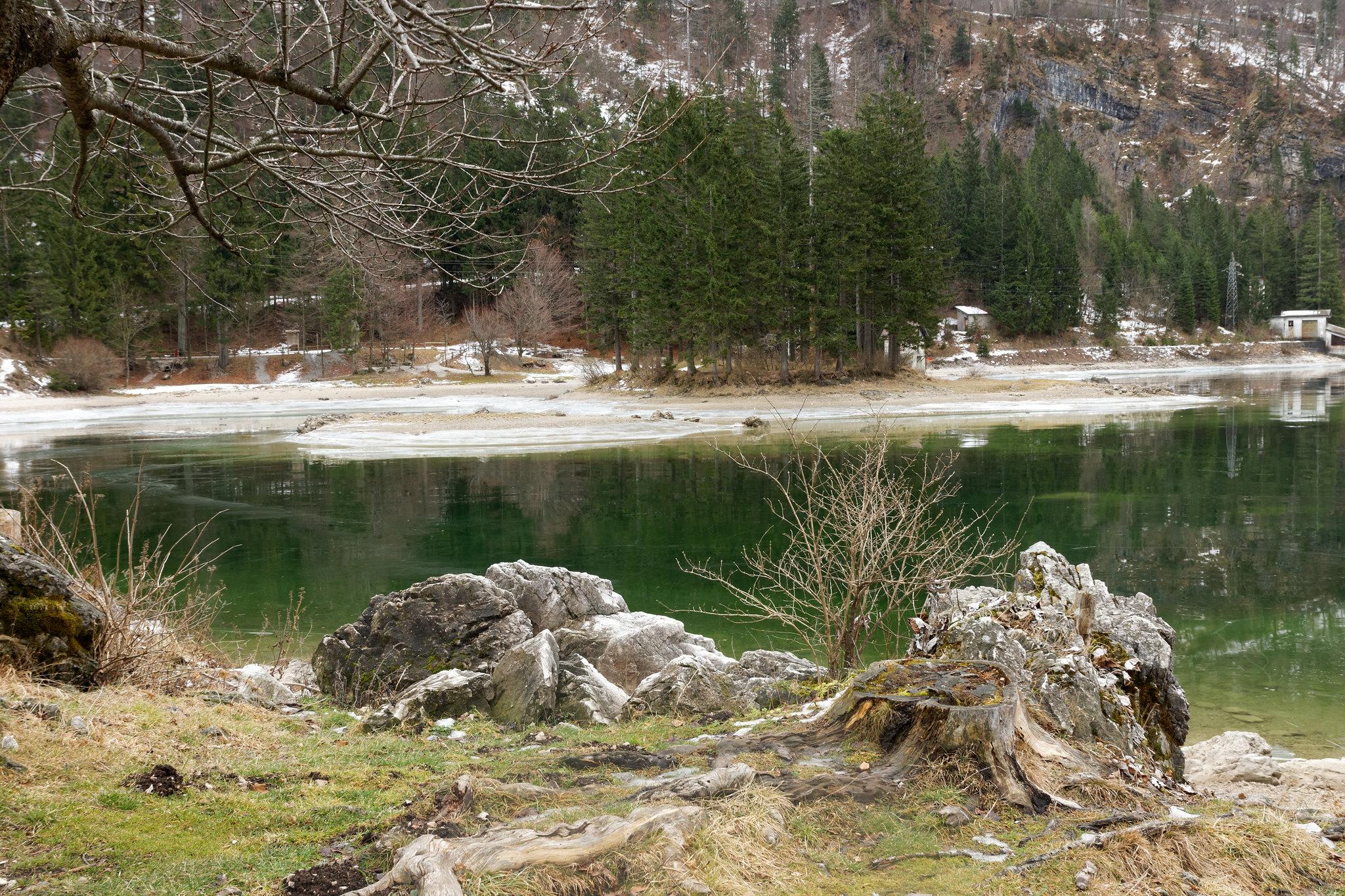 lago del predil leggenda