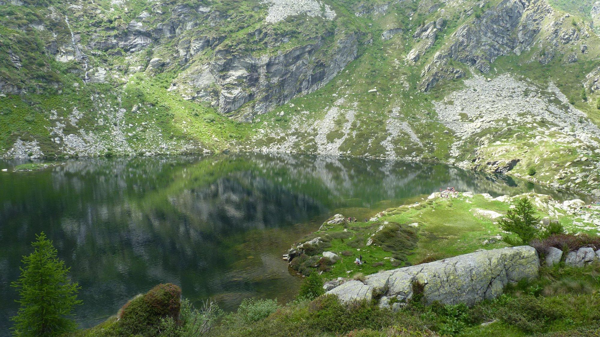 lago della vecchia biella
