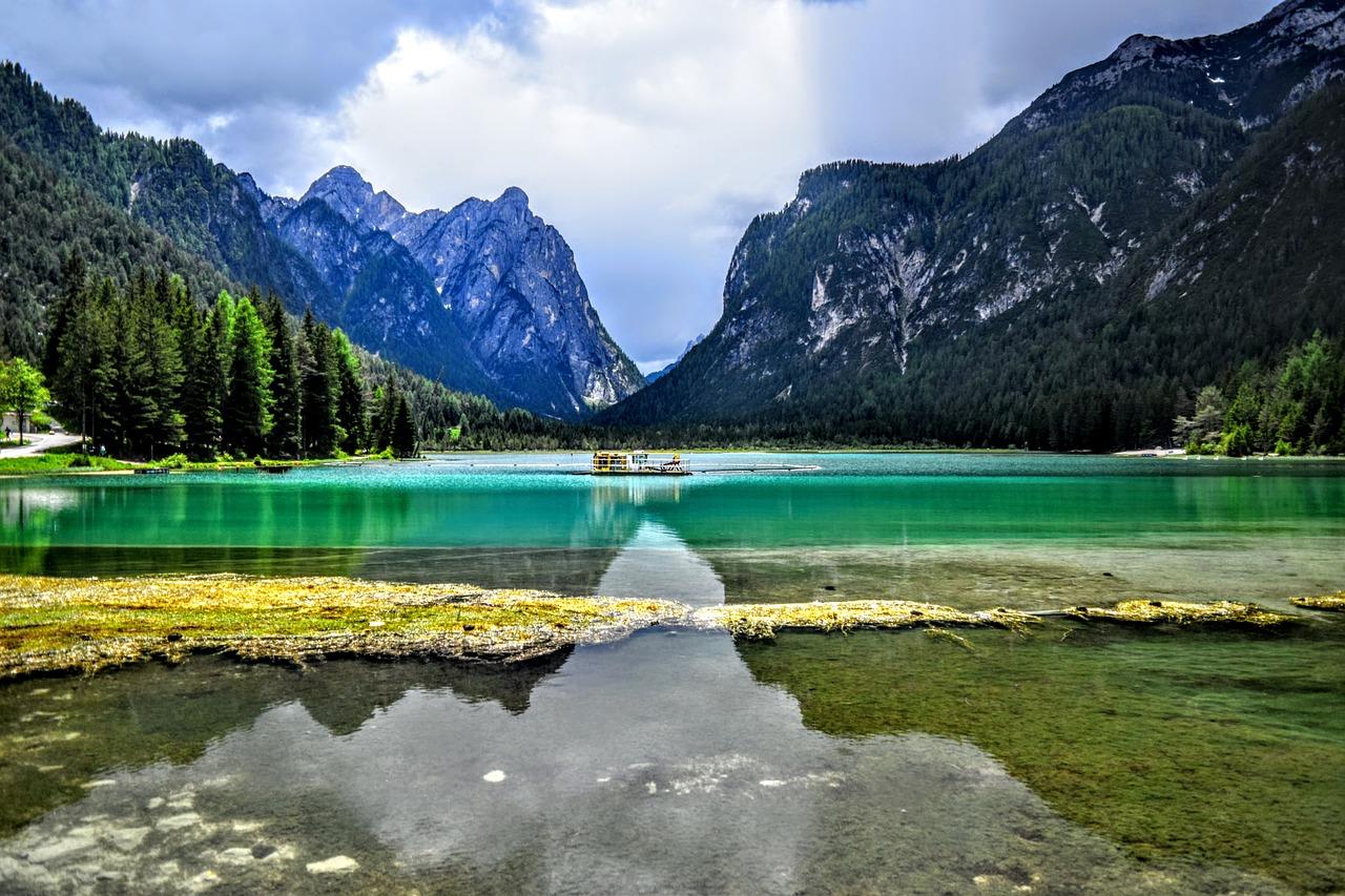 Lago di Dobbiaco balneabile