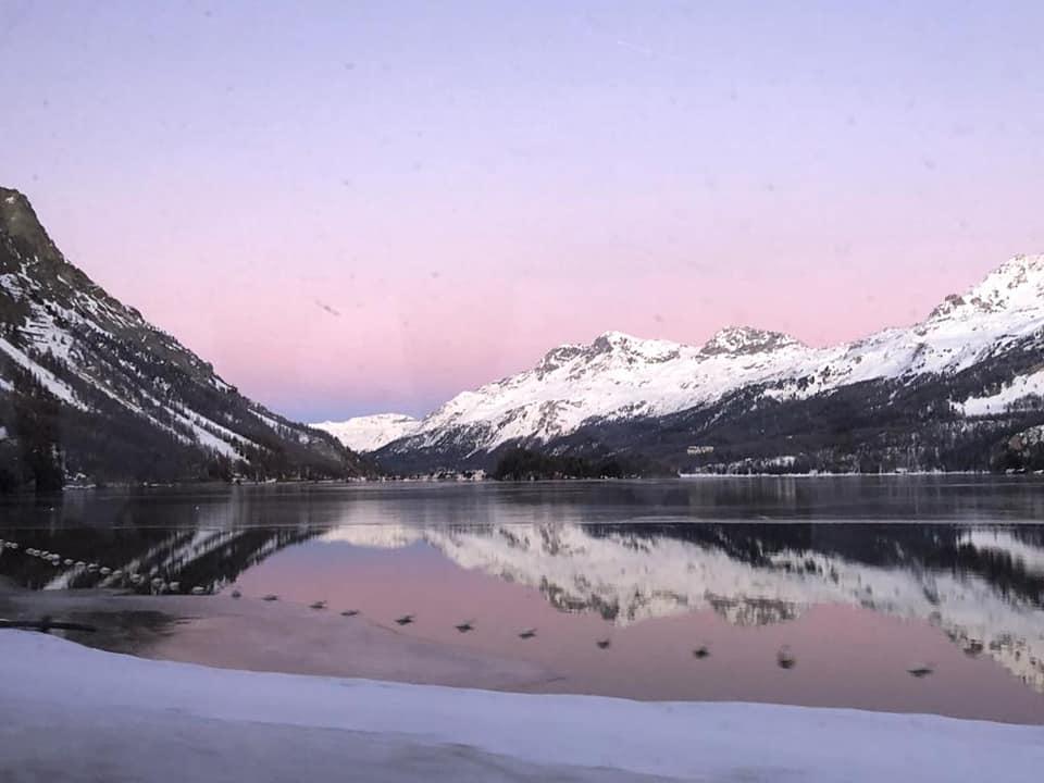 Lago di Sankt Moritz