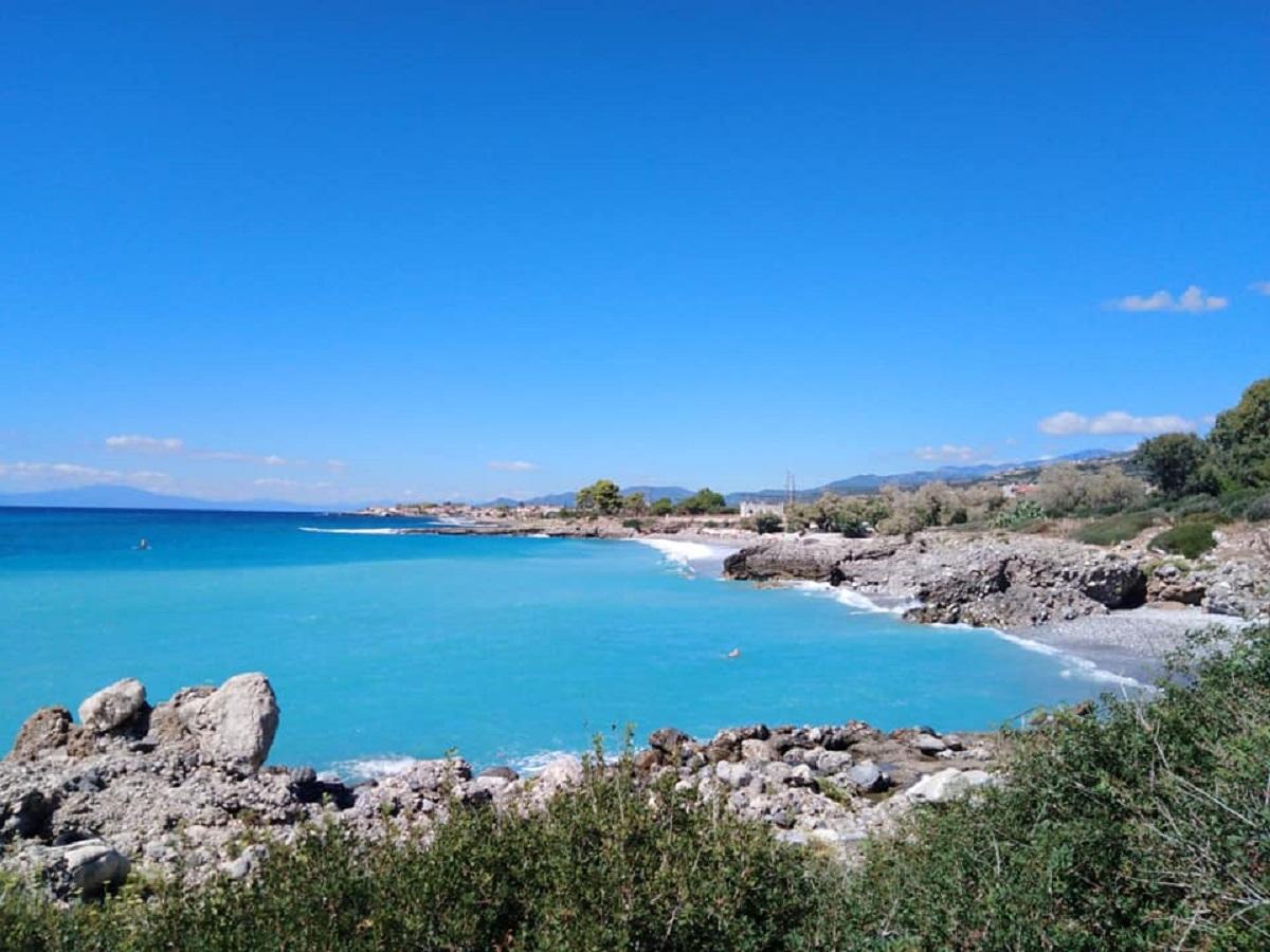 monemvasia grecia spiagge