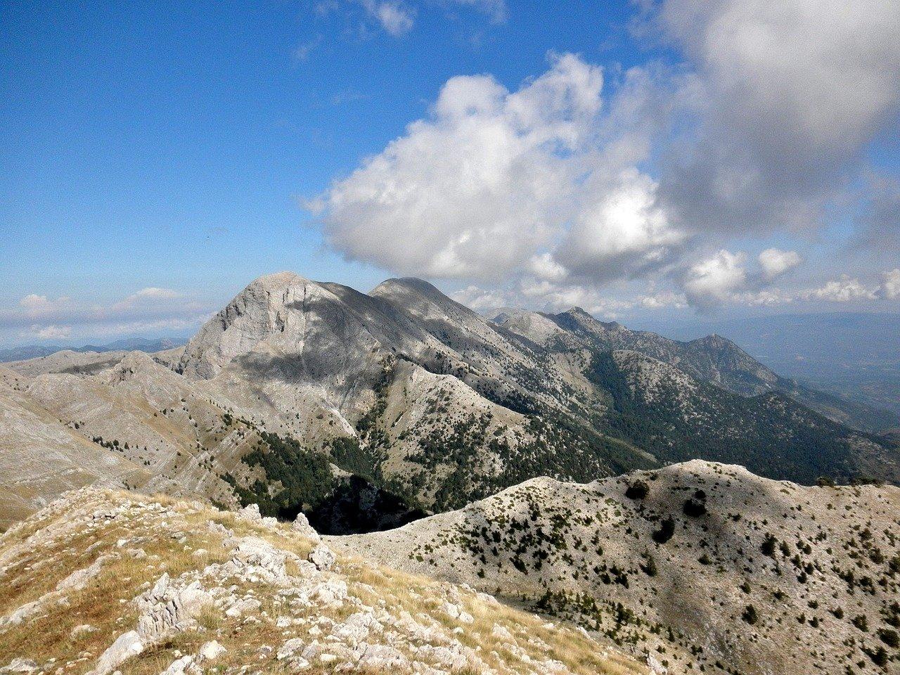 monte del taigeto grecia