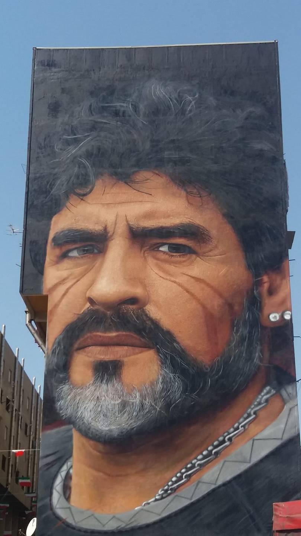 Murales di Maradona
