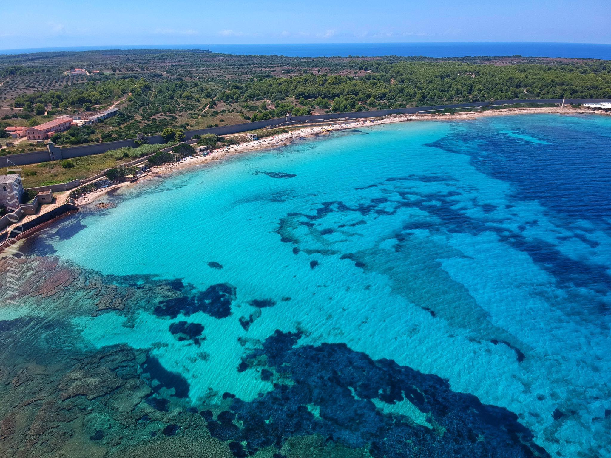 Pianosa spiaggia Cala Giovanna