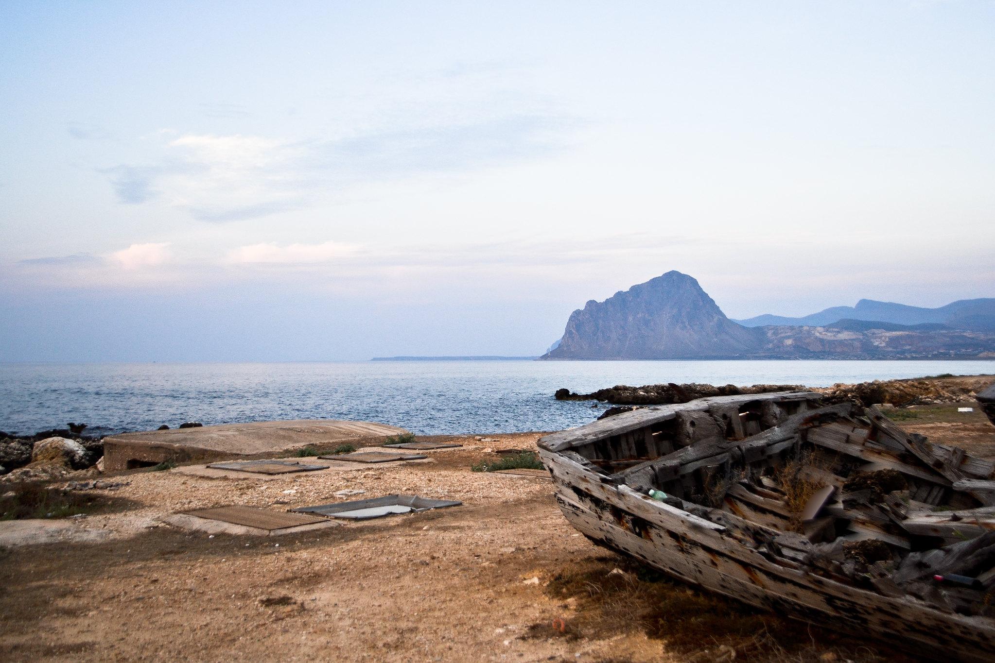 spiagge monte cofano sicilia