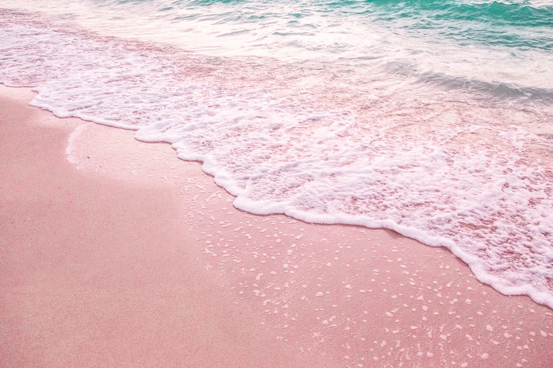 spiagge rosa in Italia e nel mondo