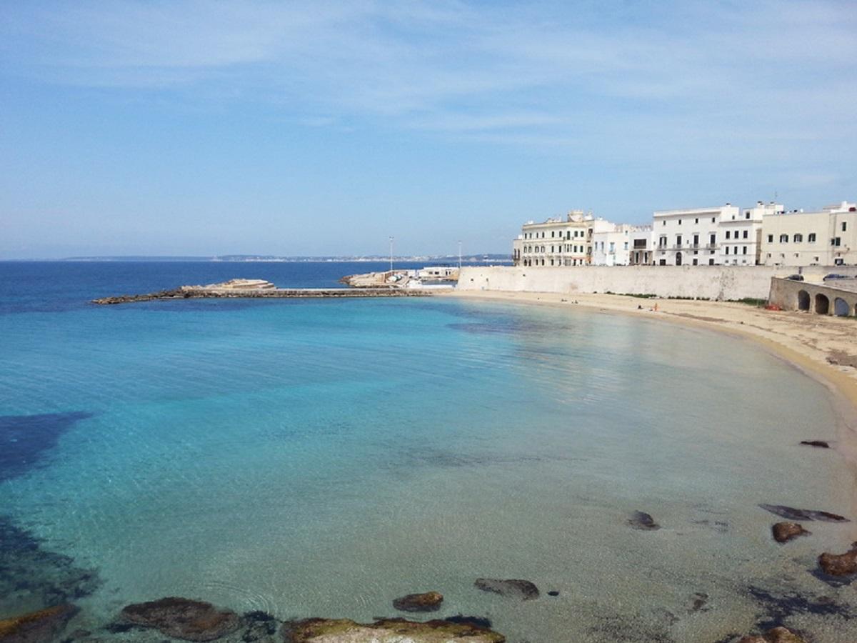spiaggia del seno della purita gallipoli