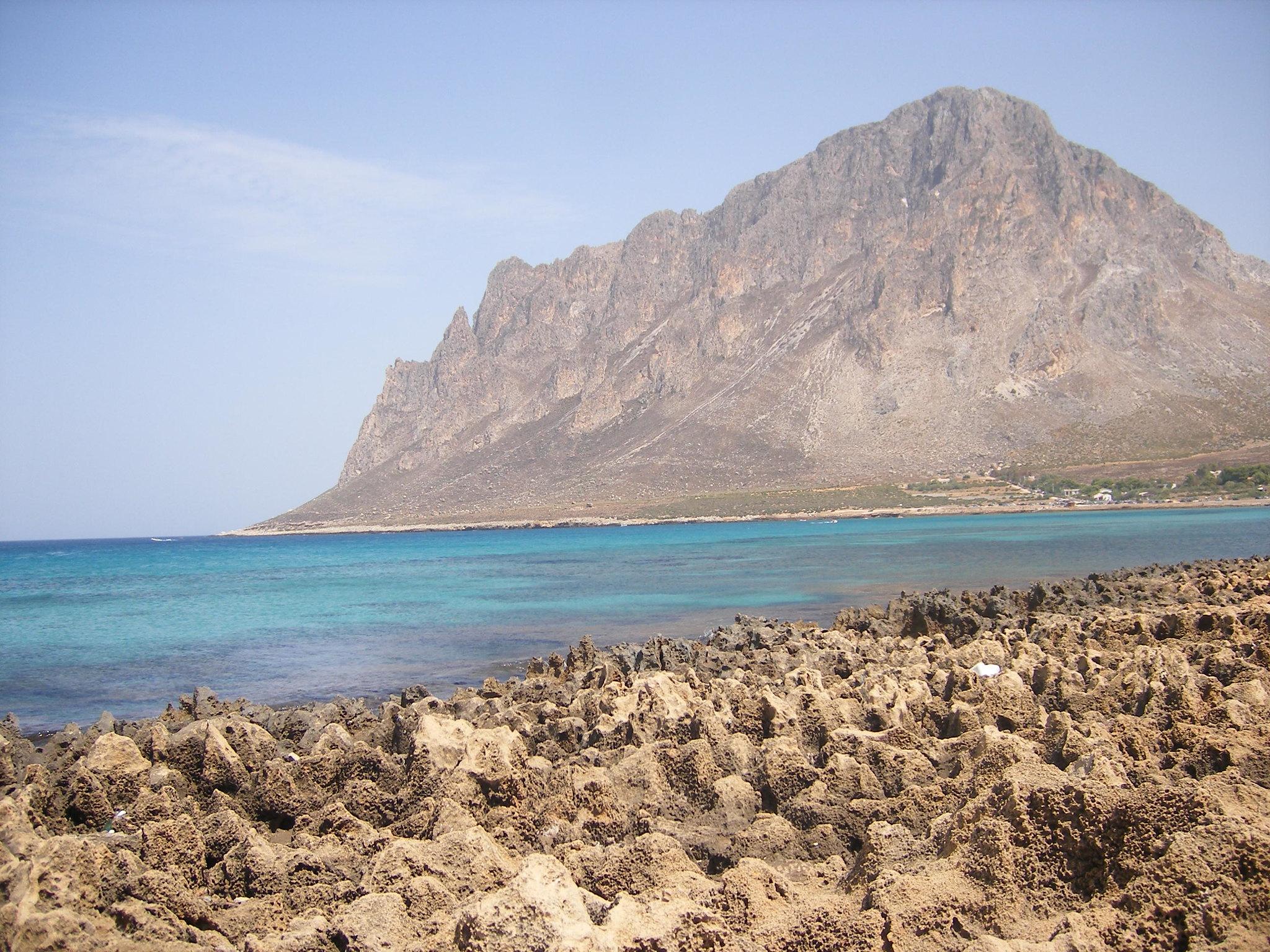 spiaggia di cornino sicilia