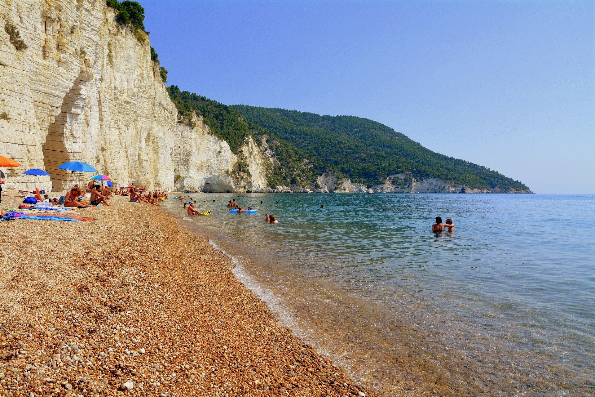 spiaggia di vignanotica gargano