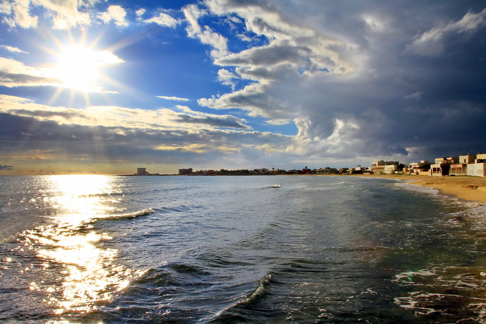 spiaggia torre lapillo lidi