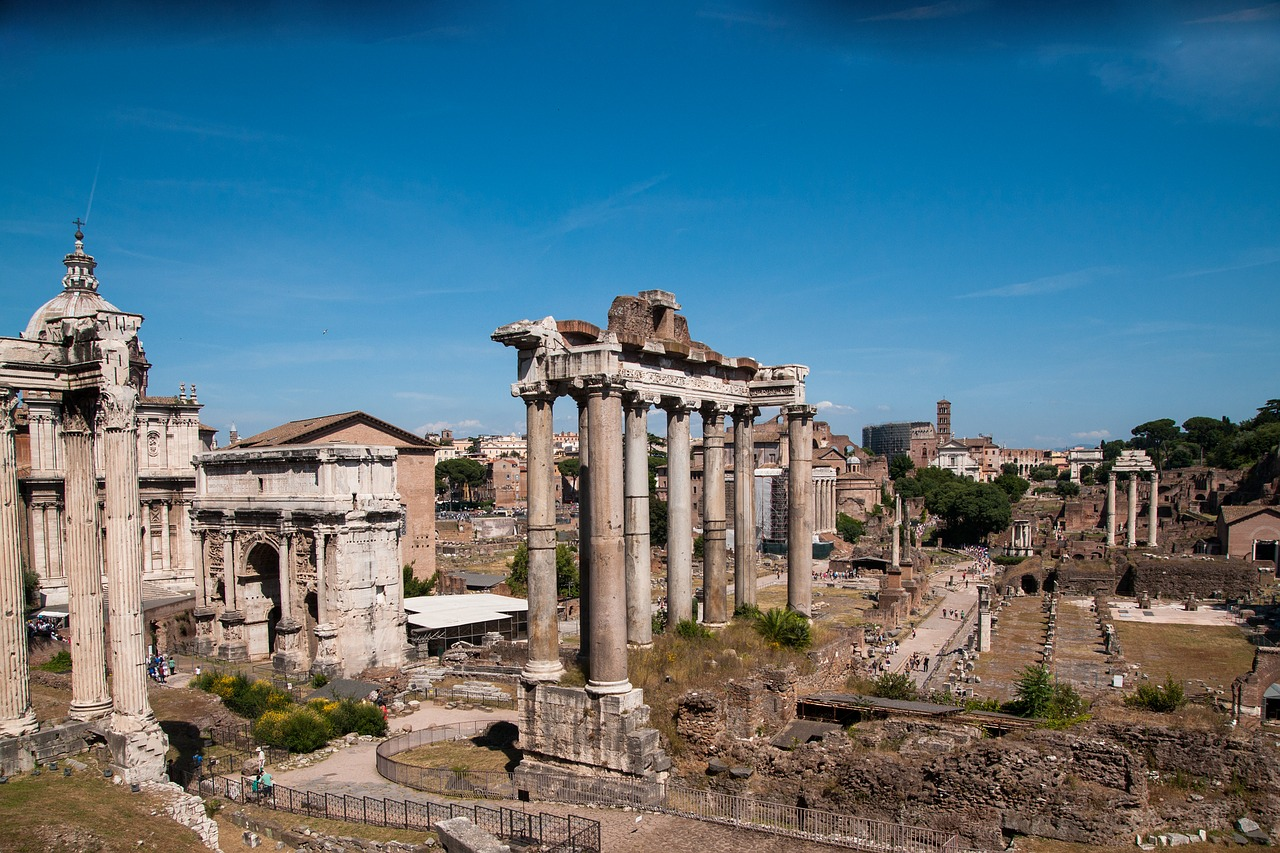tour sette colli roma