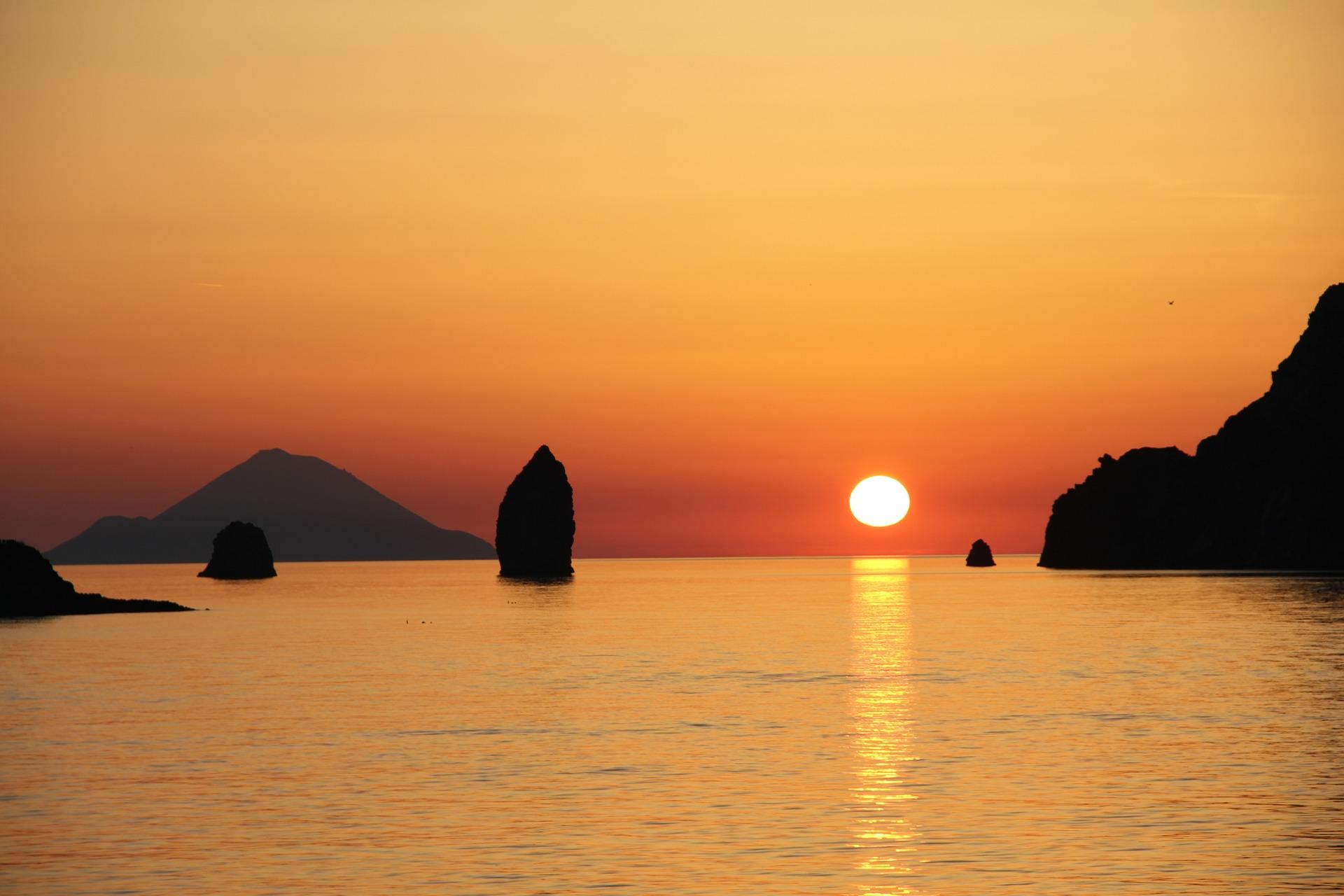 tramonti più belli d'italia