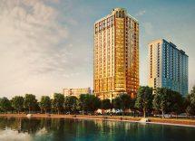 vietnam hotel placcato oro
