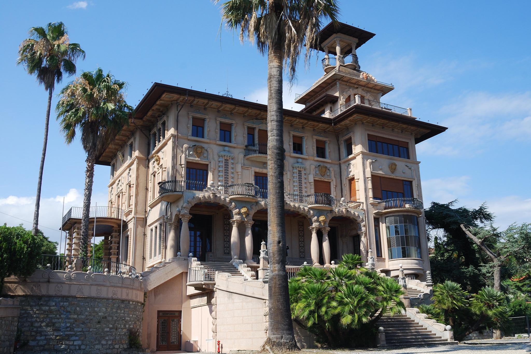 villa grock imperia storia