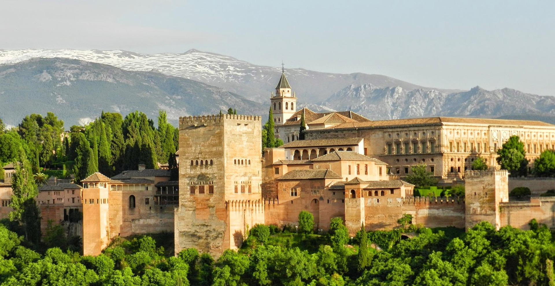 alhambra granada storia