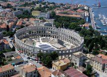 anfiteatro di pola croazia