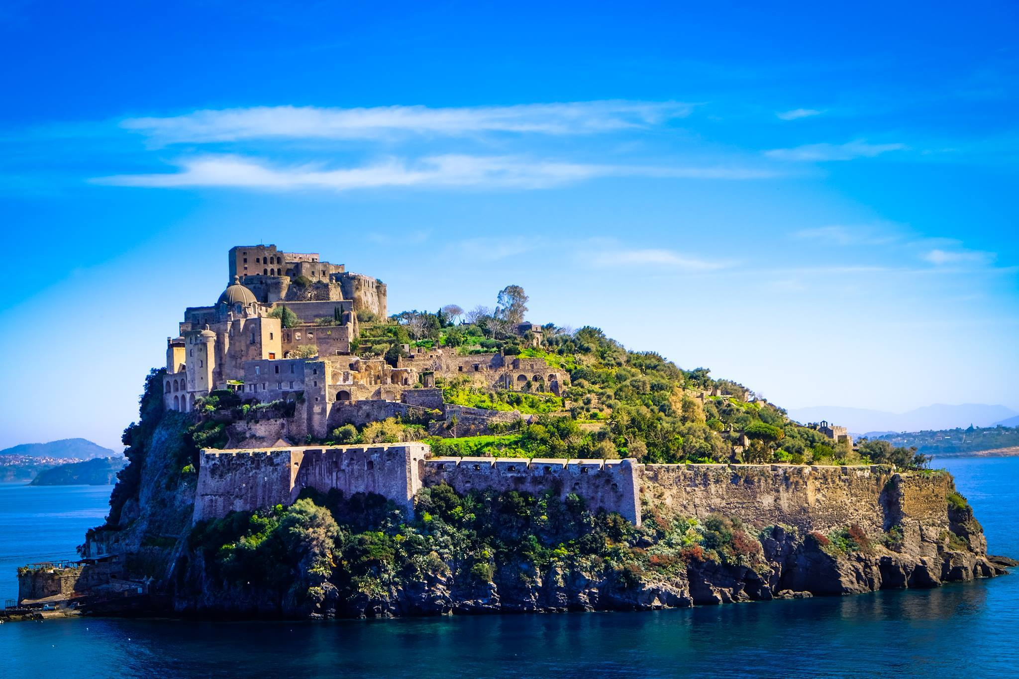 castello aragonese ischia storia