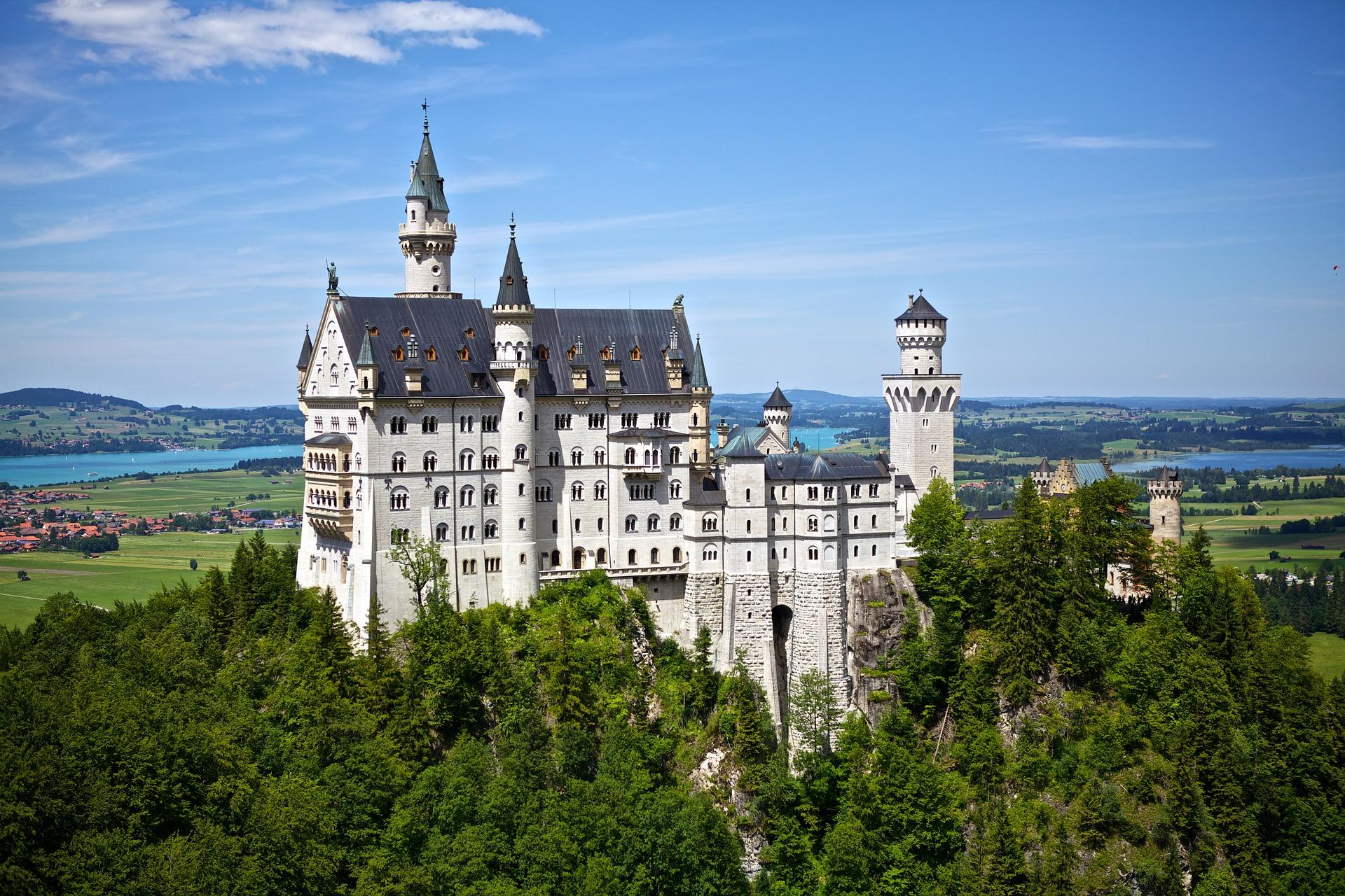 castello di neuschwanstein storia