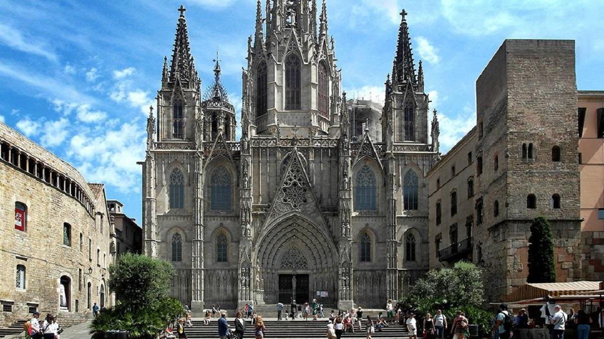 cattedrale di barcellona storia