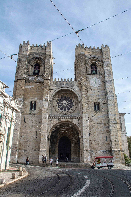 Cattedrale di Lisbona storia