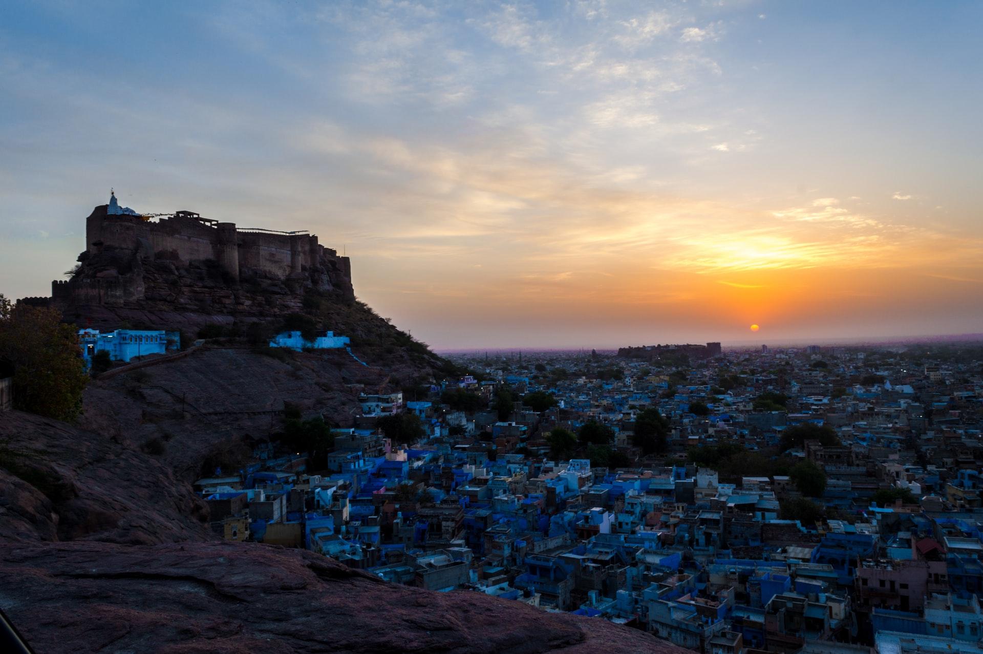 jodhpur india città blu