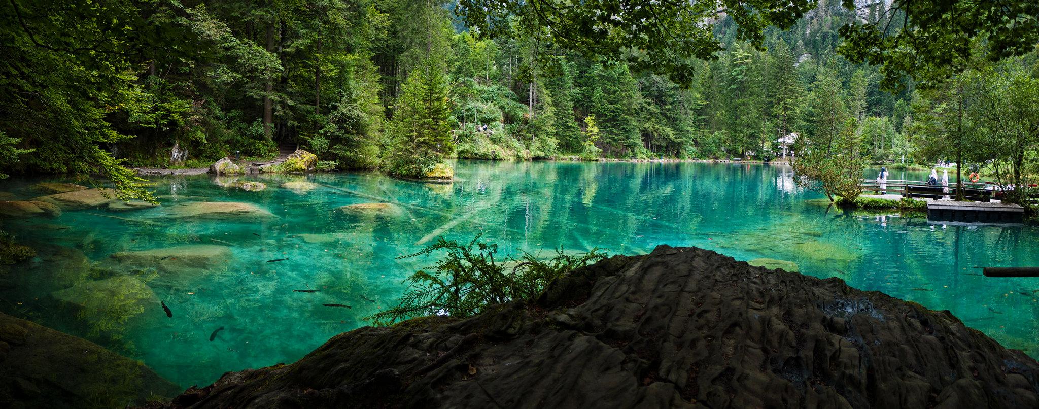 lago blu svizzera