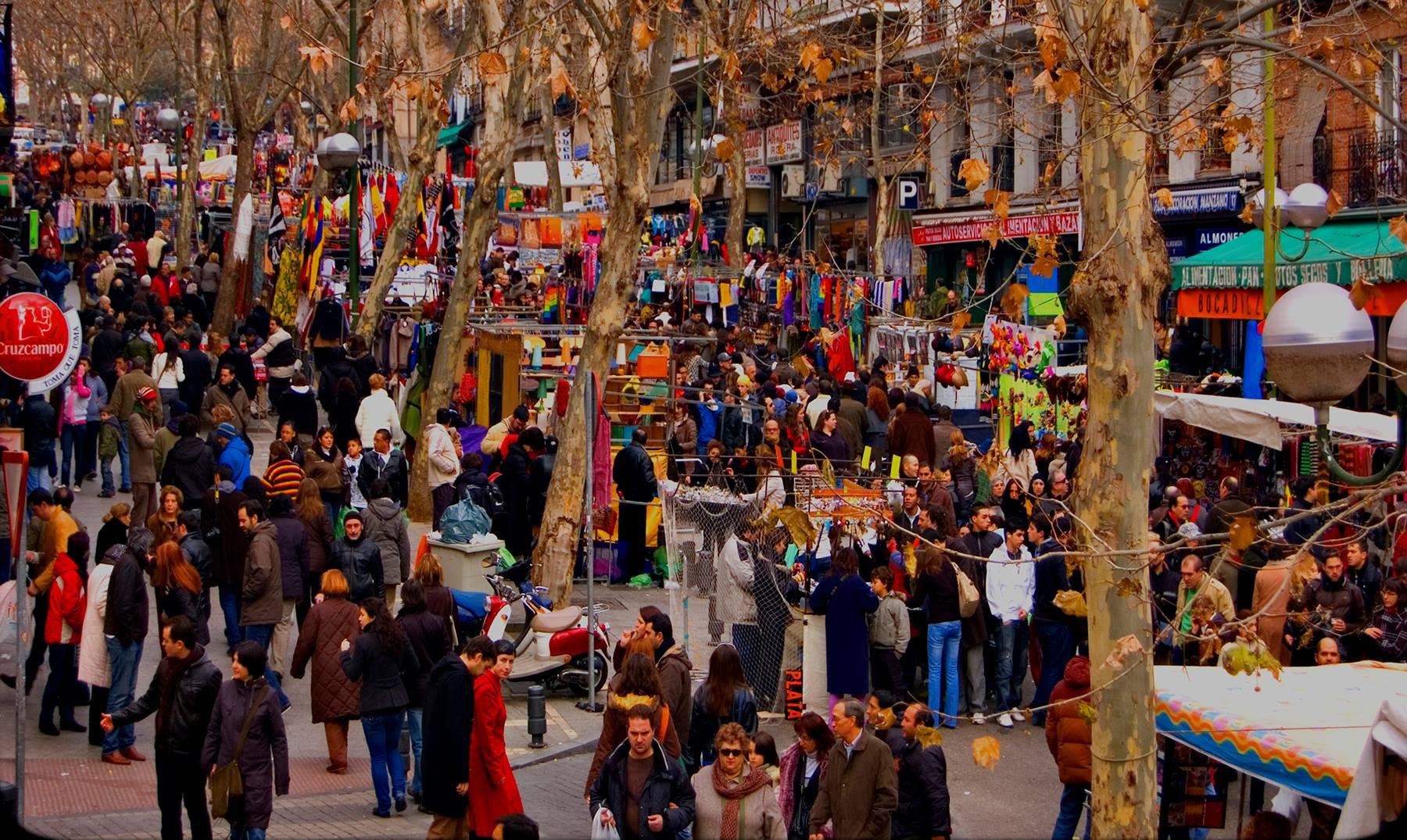 mercato del rastro madrid