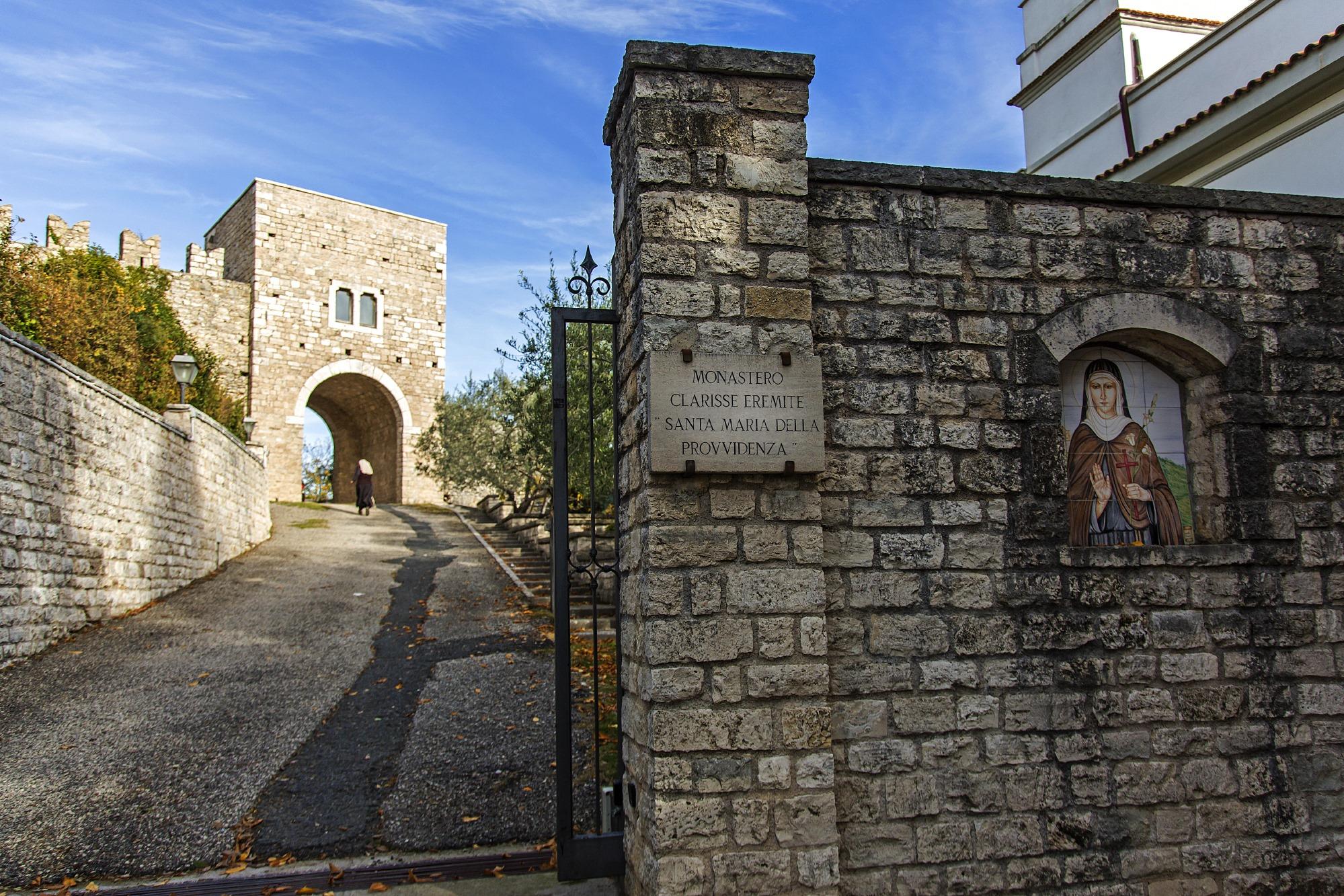 monastero delle clarisse eremite di fara sabina