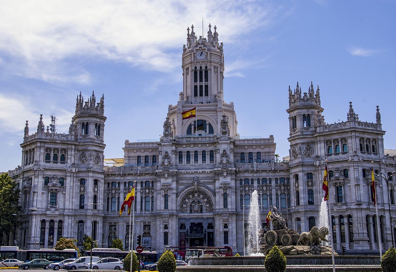 Palazzo de Cibeles Madrid