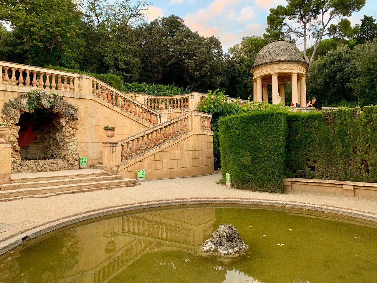 parco del labirinto di horta barcellona