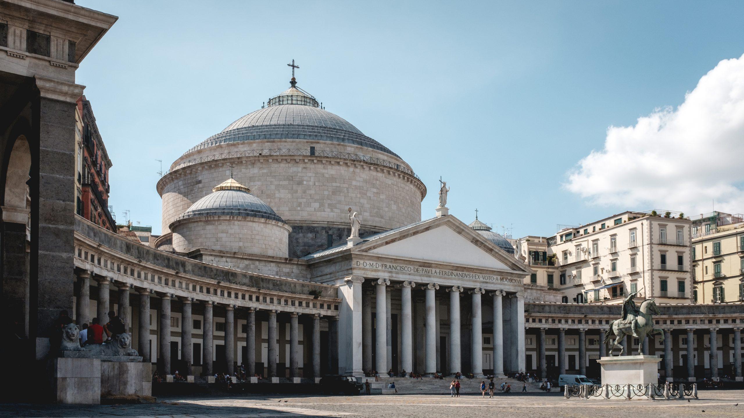 piazza del plebiscito napoli storia