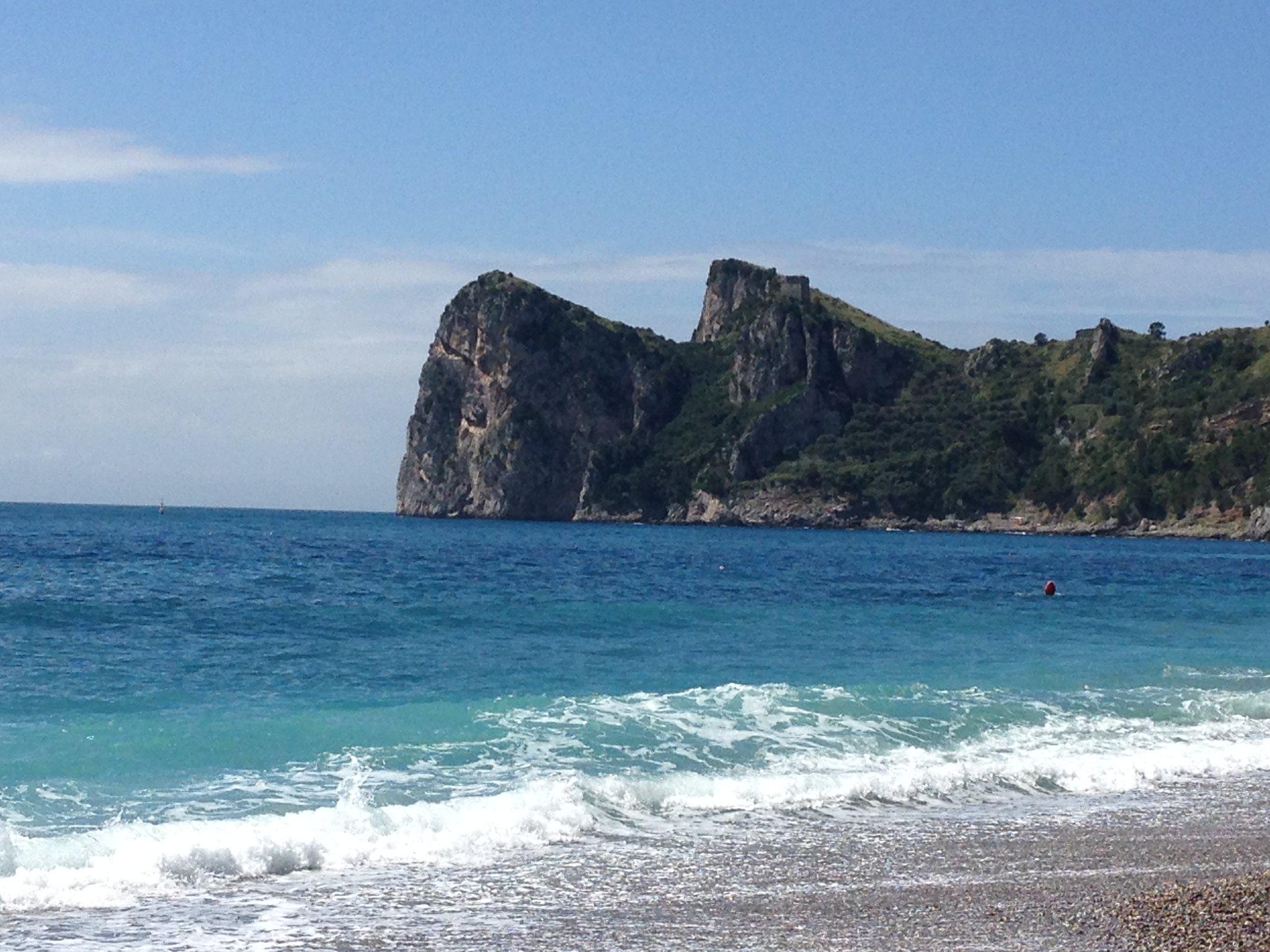 punta campanella spiaggia libera