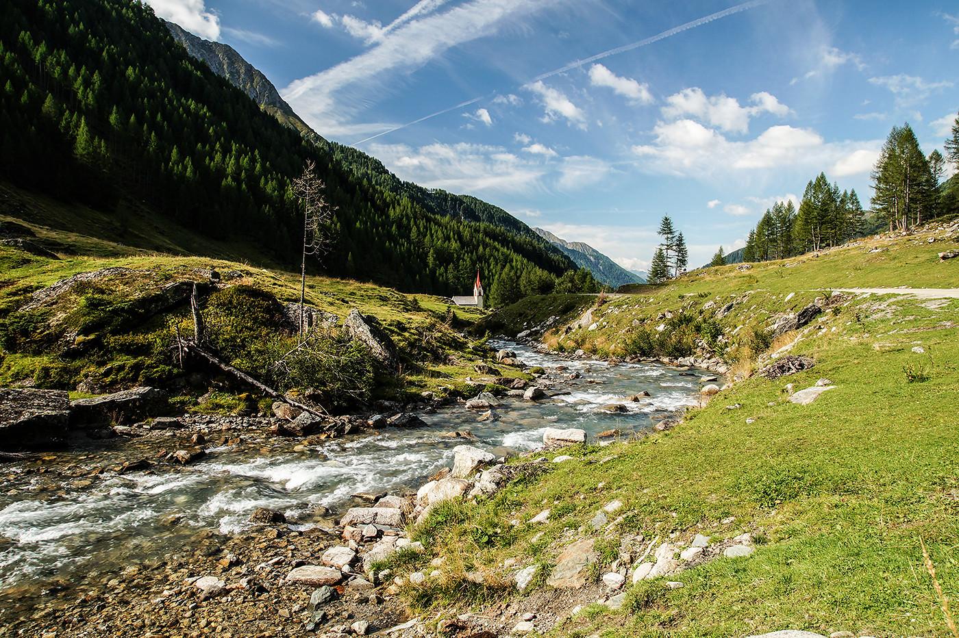 valle aurina escursioni facili